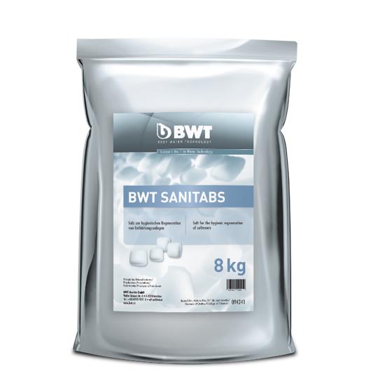 BWT Sanitabs, упак. 8 кг